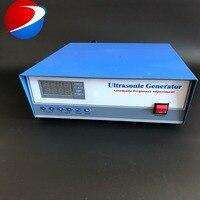 1800 W Controle de Tempo display Digital Ultrasonic Gerador utilizado na máquina de limpeza ultra sônica khz 20|Peças p/ limpador ultrassônico| |  -