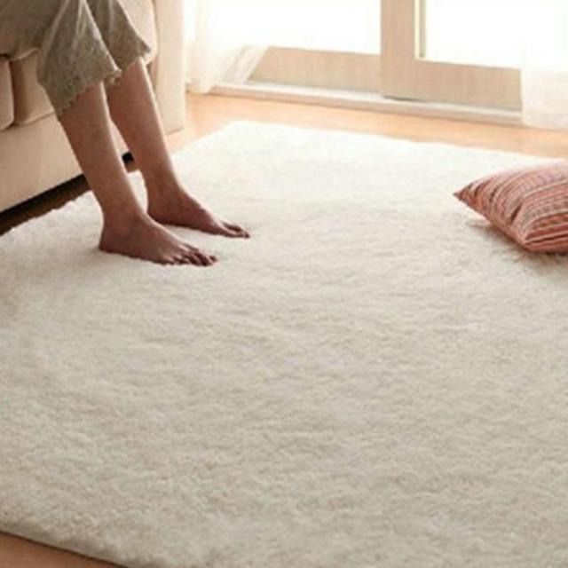 5080cm Carpet Floor Bath Mat Suede Non slip Mat Bathroom Floor