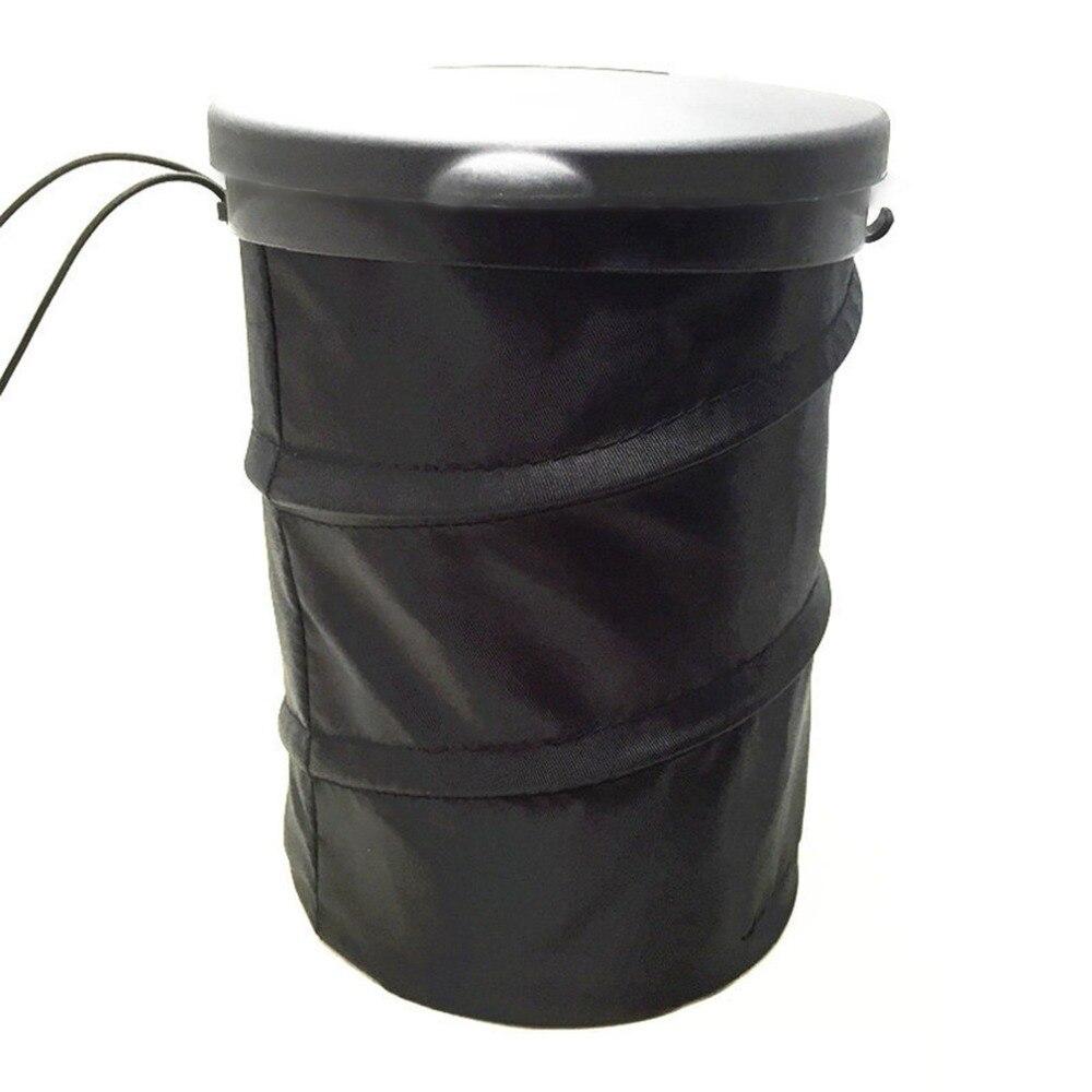 lightweight foldable design car auto garbage can trash can leakproof foldable pop up trash bin. Black Bedroom Furniture Sets. Home Design Ideas