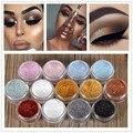 12 Colors Women Diamond Glitter Eyeshadow Pigment Eye Shadow Palette Make Up Waterproof Shimmer Powder Pigment