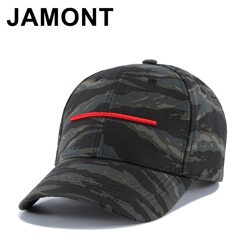 Jamont Classic Camo Baseball Cap Mens Tactical Embroidered Cotton Casquette Snapback Hat Hip Hop Strapback Cheapeau Golf Sun Cap