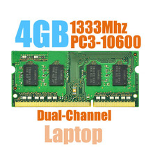 MLLSE New Sealed SODIMM DDR3 1333Mhz 4GB PC3-10600 memory for Laptop RAM,good quality!compatible with all motherboard!