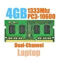 Brand New Sealed SODIMM DDR3 1333 МГц 4 ГБ PC3-10600 память для Ноутбука RAM, хорошее качество! совместимость с все платы!