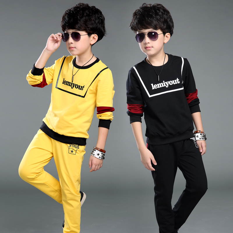 Free shipping spring/autumn new arrival 100% cotton boy clothing set two pieces sweater+pants boy sports suit new arrival spring autumn children clothing set 100% cotton boy leisure navy style long sleeve t shirt pants suit free shipping
