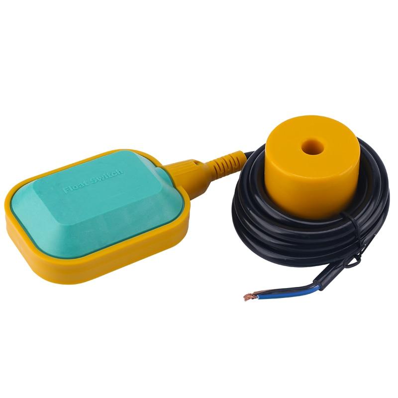 ELECALL EM15-N Contrôleur Interrupteur À Flotteur Liquide Fluide de Niveau D'eau Interrupteur À Flotteur Contrôleur de Capteur Contacteur 2 m-5 m câble