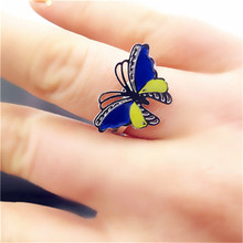 GirlFriend Creative Gift  Mood Ring Change Color 2017 New Arrival Fashion Jewelry christmas present Birthday Party  Favors Sale