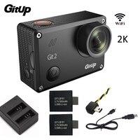 Gitup Git2 Novatek 96660 1080P WiFi 2K Outdoor Sports Action Camera Extra 950mAh Battery Dual Charger
