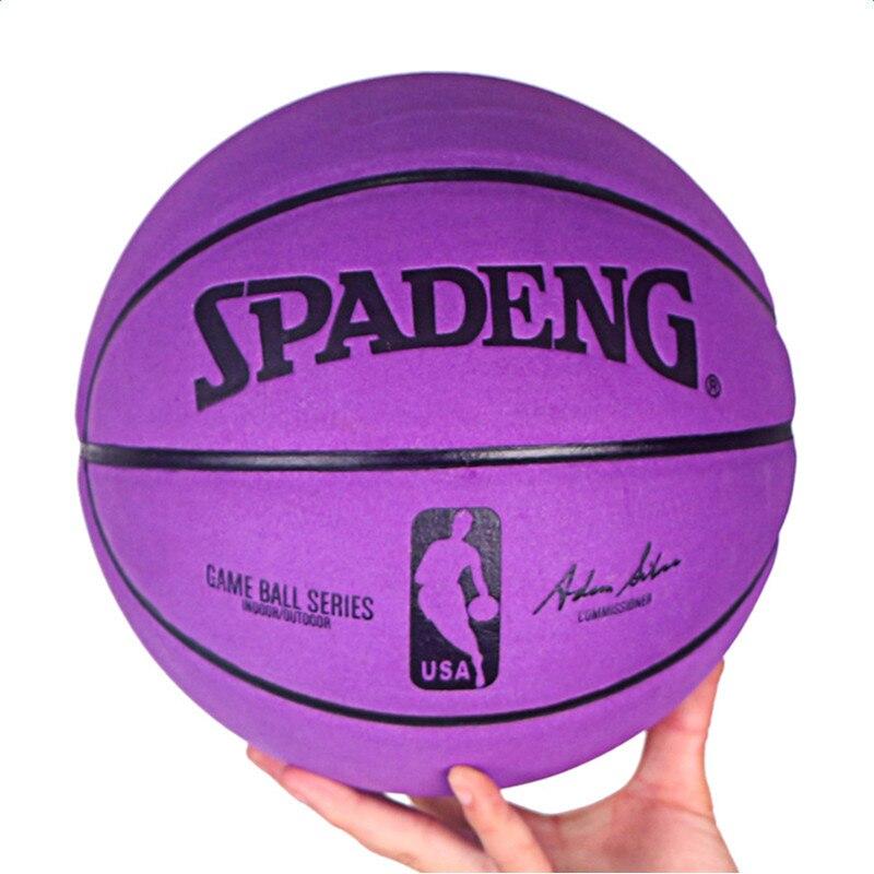 Soft Microfiber Basketball Ball Size 5 6 7 Men Women Outdoor & Indoor Professional Basketballs Team Sports