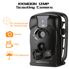 12MP 720P HD 940nm Hunting Trail Camera Outdoor Scouting Camera IR Waterproof Game Camera 2.4inch LED Screen Security