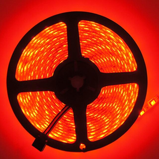 strip 5m 300 IP65 SMD5050 IR Remote Controller Receptor DC12V 2A Adapter rgb lampadas ampoule led light lamp