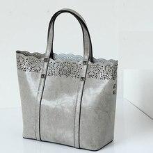 Women Bag High Quality Women Handbag Spanish Brand New Fashion Hollow Out Women Crossbody Bag Genuine Leather Women Shoulder Bag