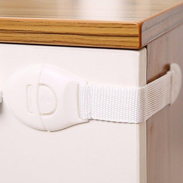 Praktische Kinderen Anti Open Ladeblokkering Multifunctionele Baby Anti Pinch Hand Kast Lock Baby Veiligheid Bescherming