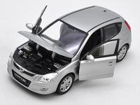 1:24 high simulation Hyundai i30 alloy car model,collection of gifts for children's toys,free shipping