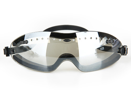 Tactical Silver Tea Silver Protective Goggle For Outdoor Hunting  OS8-0029