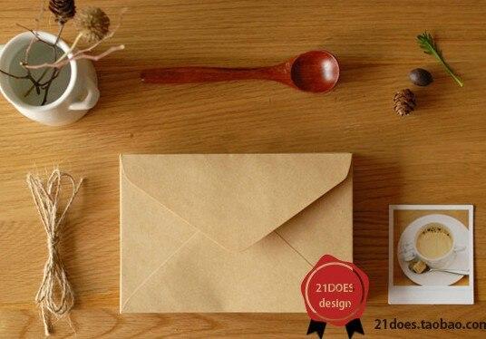 50 шт / комплект 160* 110мм старинные конверт/бумага/конверты бумажные/конверты для писем хранения крафт мини небольшие конверты - Цвет: Design A