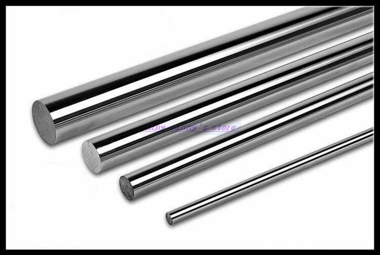 2PCS Optical Axis Cylinder OD 12mm x 500mm 600mm Liner Rail Linear Shaft ROD US