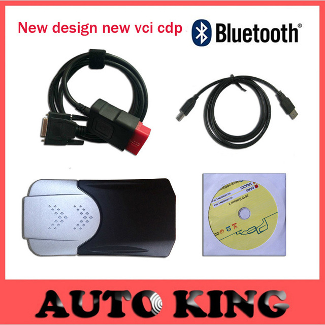 New design with Best 2015.1 software cd as mvd multidiag pro+ TCS CDP pro new vci cdp PRO for CARs TRUCKs scan tools ship free