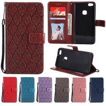 ФОТО for huawei p9 p10 lite case embossed rattan wallet flip case for huawei p9 lite mini enjoy 7 y6 pro 2017 for y7 honor 7x 9 lite
