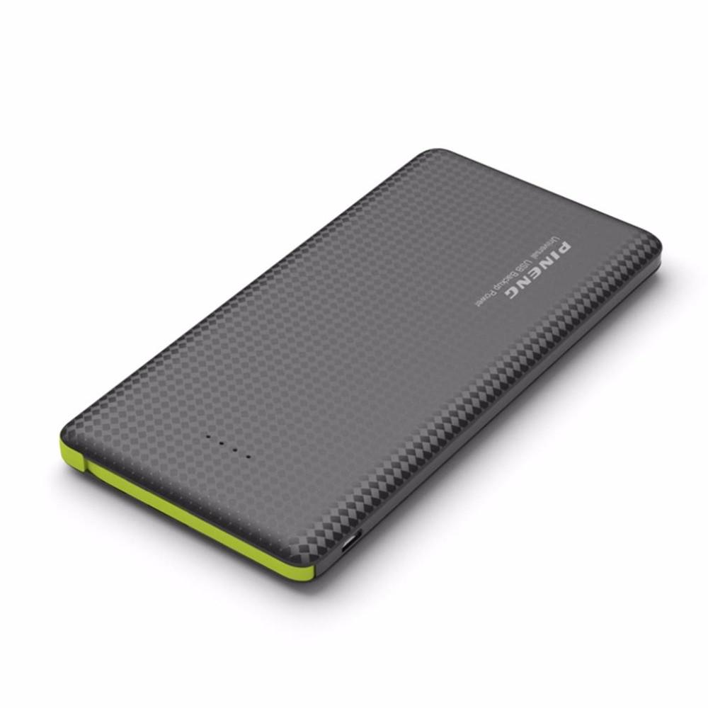 imágenes para PN-951 PINENG 10000 mAh Portátil de Carga Rápida Banco de la Energía Externa Móvil de La Batería de Doble Salida USB Cargador de Li-Polímero Para Iphone