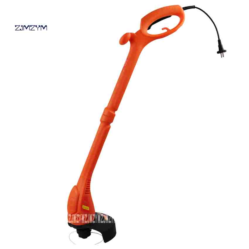 цена на ZJMZYM New RI-WT-0350-EXP Electric Lawn Mower Portable Garden Courtyard Pruning Tools Grass Trimmer 350W 220v-50HZ 11000r / min