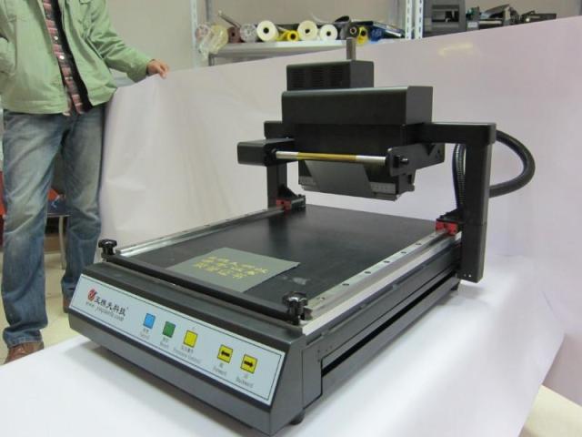 Stampatrice a caldo digitale senza platino / macchina per stampa a - Attrezzature per la lavorazione del legno - Fotografia 3