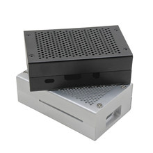 For Raspberry Pi 3 Aluminum Case Silver Case Metal Enclosure for RPI 3 Model B Compatible with Raspberry Pi 3 Model B+(China)