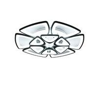 Черный современные потолочные светильники для столовой Гостиная акриловые абажур Спальня корпус белый матовый пространство 10 30 м