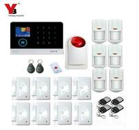 GSM WIFI Wireless Alarm PIR Motion Sensor Passive Infrared Detector Home Automation Burglar Alarm With Android