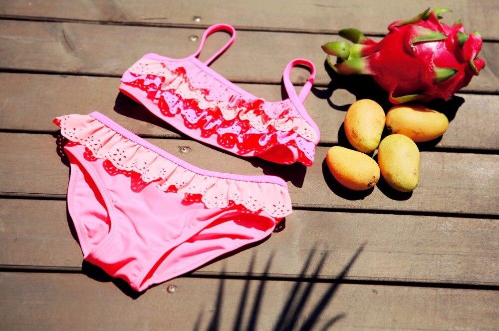Juego de biquinis de dos piezas Chica de arena de julio para niños - Ropa deportiva y accesorios - foto 6