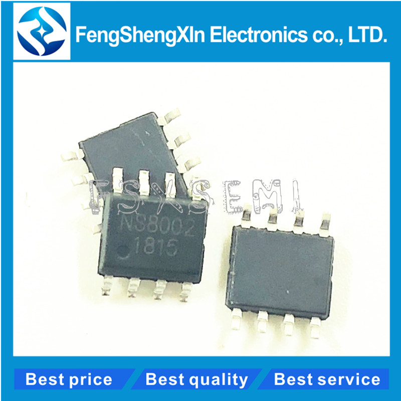 100 pcs/lot Neue NS8002 <font><b>8002</b></font> NS8002 chip audio power verstärker power verstärker IC SOP-8 image