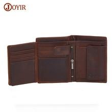 Joyir Men Real Leather Wallet Male Leather Wallet Brand Genuine Leather Wallet Short Purse Cow Men Wallets luxurious Carteras 523