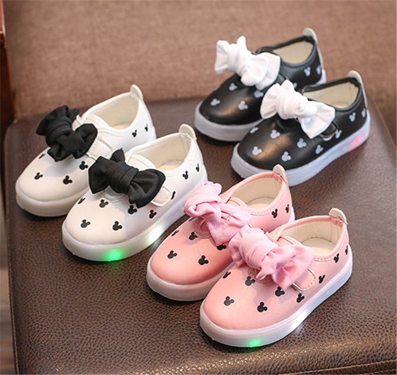 kids girls shoes with light (19)