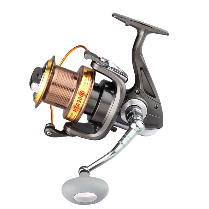 YUYU Sea Fishing Spinning Reel 8000 9000 Metal Spool 13+1BB Saltwater Catfish Surfcasting Fishing Reel Distant Wheel