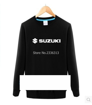 Logo Et Sweat Voiture Automne Printemps Col Suzuki Veste Rond Chaud TEfqn