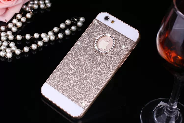 Detail Feedback Questions about Lovely Candy Glitter Bling Diamond Back  Cover For iPhone 7 6 6S Plus X 8 Plus Hard Phone Cases for iPhone 5 5S SE  Fundas on ... 8d754561441b3