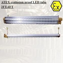 BPY explosion beweis führte schlauch leuchte 2ft 4ft ATEX zone 1 linear LED highbay licht leuchten