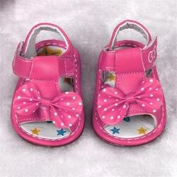 Новые детские мокасины с бантиком и мягкой подошвой для маленьких девочек bebek ayakkabi l10192