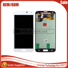 100% Working well LCD Display For Samsung Galaxy S5 I9600 SM-G900 SM-G900F G900 LCD Screen Digitizer Complete Free Shipping