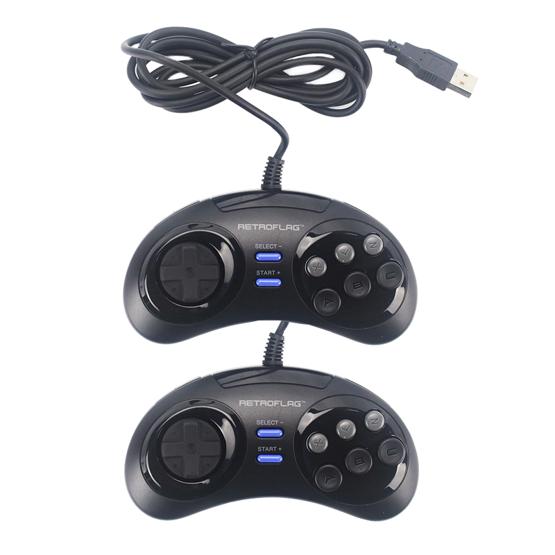 Retroflag Wired USB Game Controller Gamepad Joypad for Rasbperry Pi 4 B  MEGAPi NESPi SUPERPi Case for PC Switch for Windows