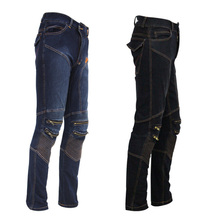 Breathable Motocross Racing Pants Windproof Jeans Pants for Four Seasons