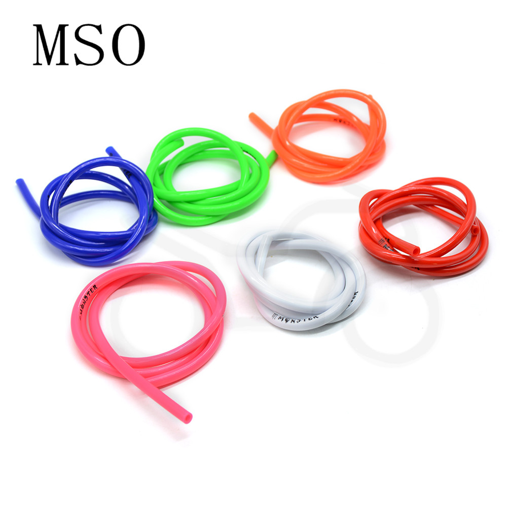 20M Motorcycle Dirt Fuel Gas Oil Delivery Tube Hose Line Rubber Material Petrol