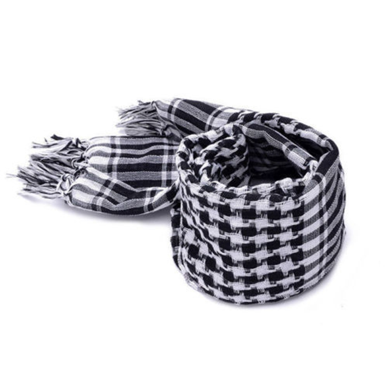 Arafat arab scarf shawl Keffiyeh Kafiya shemagh desret palestine Shemag Kafya