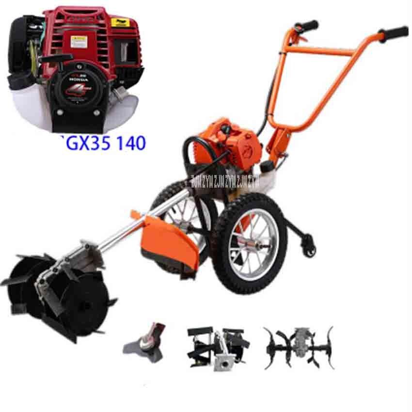Lightweight hand push type 1900W High power rake Scraper Scarifier Lawn mower,GX35 140 Air Cooling,4-Stroke motor 38.9CC 2.5 фен 5800 1900w page 4