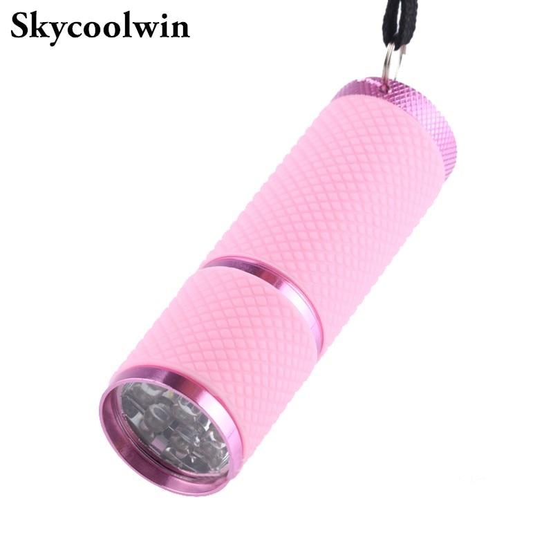 Skycoolwin lampes de poche LED 9 LED lampe perles torche LED lampe de lumière couleurs assorties 50 PCS/Lot