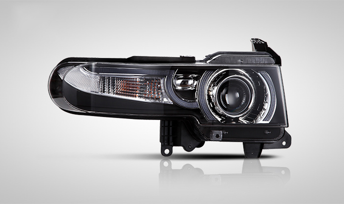 V2 Type for Toyota FJ Cruiser 2007-2015CAR Lights HID Xenon Headlights Assembly LED DRL light