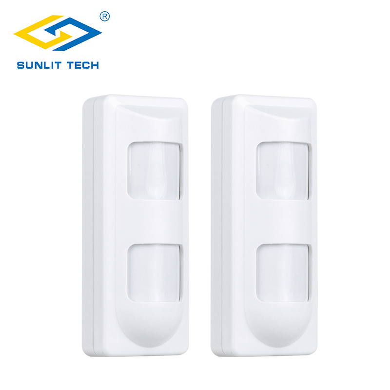 2pcs Wireless Dual PIR Sensor Pet Immune Motion Detector 433Mhz Alarm Sensors For Wireless GSM/PSTN Home Security Alarm System 2pc lot wireless pir detector for gsm pstn home security alarm system wireless 433mhz indoor pir motion sensor