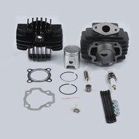 Motorcycle Big Bore Kit Top End Set For YAMAH PW 50 PW50 Y Zinger QT 50