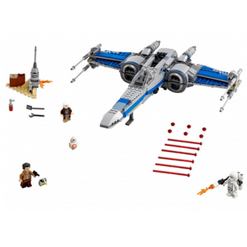 740pcs Lepin Diy Star Series Wars Rebel X-Wing Fighter Blocks Assembled Compatible With Legoingly Brick Toys for Children hot sale building blocks assembled star first wars order poe s x toys wing fighter compatible lepins educational toys diy gift