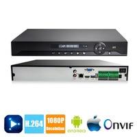 H.264 16CH 24CH 36CH NVR CCTV 2MP 1080P For 1080P IP Camera Network Video Recorder Onvif P2P NVSIP NVR VGA HDMI Output