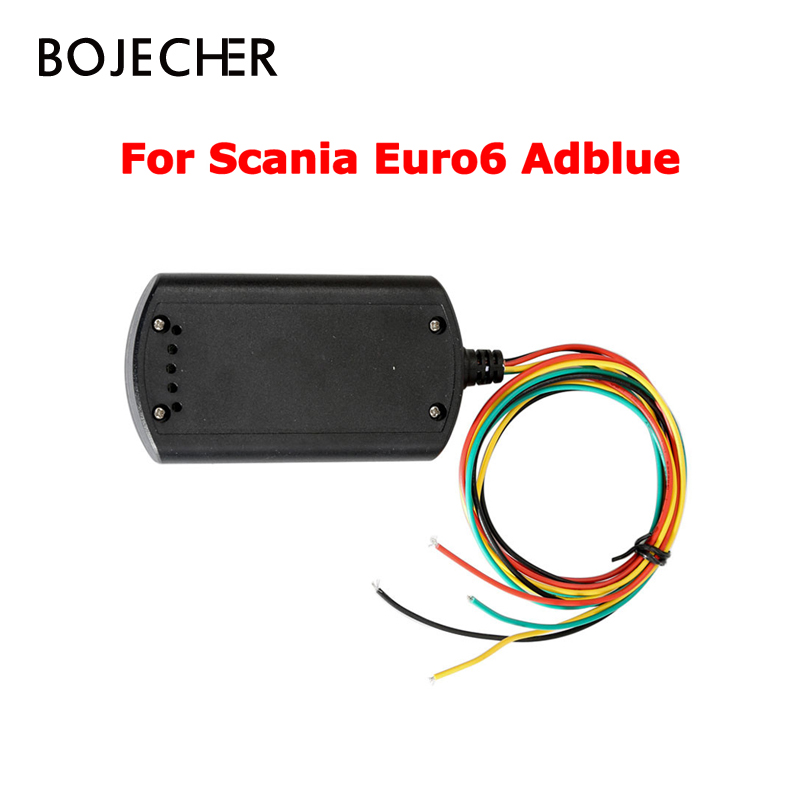 Adblueobd2 For Scania For volvo Euro 6 Truck Scanner Adblue Emulator Euro6 with NOX sensor Support DPF system adblue emulator 7in1 w programming adapter for benz man scania iveco daf volvo renault
